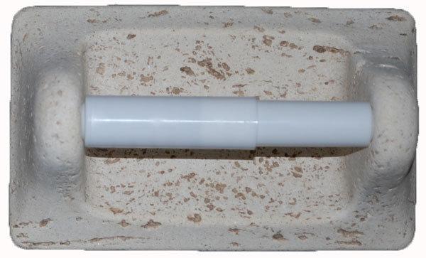 Cast Stone Toilet Tissue Holder - Ivory