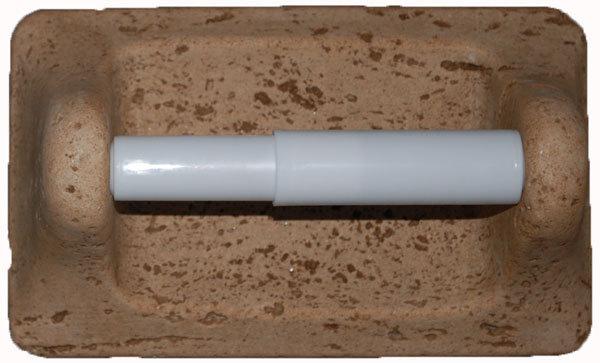 Cast Stone Toilet Tissue Holder - Mocha