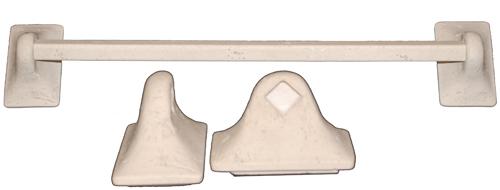 Cast Stone Towel Bar - Ivory