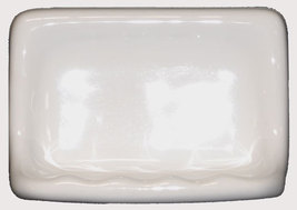 Ceramic Glaze Soap Dish - Cream - $14.95