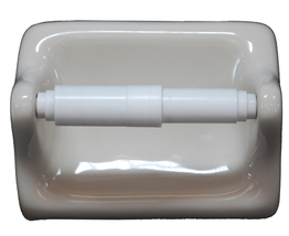 Ceramic Glaze Toilet Paper Holder - Cream - $19.95