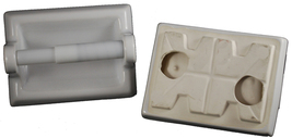 Ceramic Toilet Paper Holder - White - $19.95