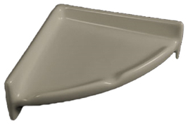 Porcelain Corner Shelf Round - Standard Colors - $44.95