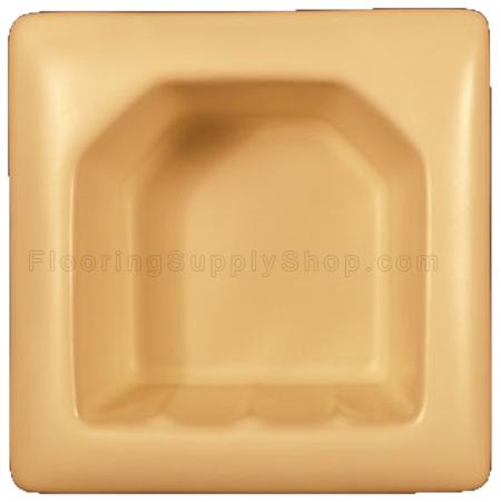 Porcelain Hotel Mini Soap Dish 5x5 - Premium Colors