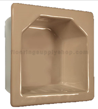 Porcelain Hotel Mini Soap Dish 6x6 - Standard Colors - $44.95