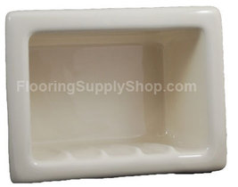 Recessed Soap Dish Porcelain Biscuit - $59.95
