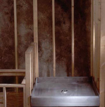 PreFormed Ready to Tile Shower Pan 34 x 48 Dallas PVC
