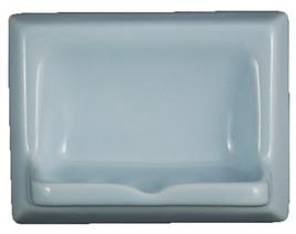 Ceramic Glaze Soap Dish Glossy Sky Blue - $14.95