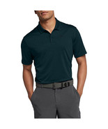 Nike Men's Dry Victory Polo Solid Left Chest, Midnight Spruce/Black, Small - $54.45