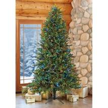 7.5′ Pre-Lit LED Artificial Christmas Tree Surebright Dual Color EZ Connect NIOB image 2