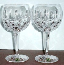 Waterford Lismore Balloon Wine Glasses Set of 2 #156516 New In Box - $148.90