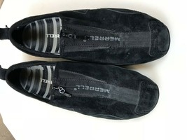Women's Merrell Barrado Black Flats Slip On Loafer Shoes Size 7.5 - $18.65