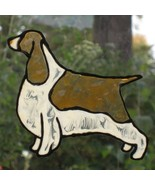 Faux stained glass English Springer Spaniel reu... - $7.00