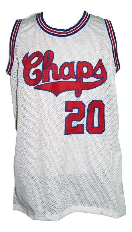 Manu ginobili  20 dallas chaps retro aba basketball jersey white   1