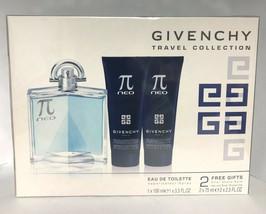 Givenchy Pi Neo Cologne 3.4 Oz Eau De Toilette Spray 3 Pcs Gift Set image 2