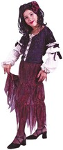 Gypsy Rose Child Costume Size 4-6 4 Piece Costume - $16.99
