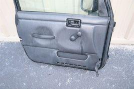 97-06 Chrysler Jeep Wrangler TJ Full Door Left Driver Florida CAR NO RUST image 12