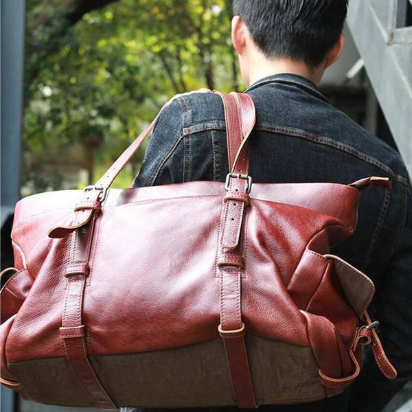 On Sale, Tote Bag, Full Grain Leather Shoulder Bag, Handmade Men Bag, Laptop Bag image 5