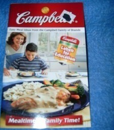 Campbell's, Mealtime is Family Time! Cookbook