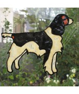 Field style English Springer Spaniel faux stain... - $11.00