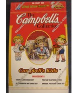 Campbells Kids Collector Card Box 36 Packs Collect-A-Card 1995 Sealed - $19.95