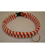 Paracord 550 Dog Collar *Customize Color and Size* Black Quick Release B... - $14.00
