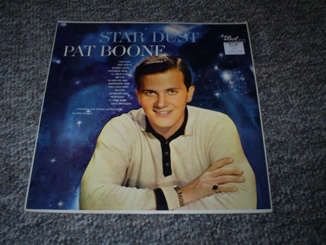 Primary image for Pat Boone, Star Dust Record Album, 1958, 33 RPM