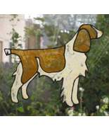 Large suncatcher English Springer Spaniel reusa... - $11.00