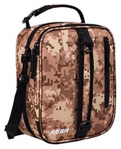 MIER Insulated Lunch Box Bag Expandable Lunch Pack for Men, Women, Camo - $15.76