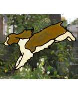 Jumping English Springer Spaniel reusable sunca... - $9.00