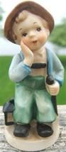 VINTAGE NAPCO Ceramics TIRED LUMBERJACK FIGURIN... - $79.99