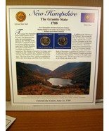 New Hampshire Statehood Quarters Collection Postal Commemorative Society - $8.09