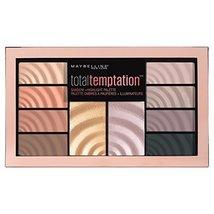 Maybelline Total Temptation Eyeshadow + Highlight Palette, 0.42 oz. - $9.08