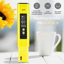 Digital PH Meter Acidity Tester Accuracy 0.01 PH Tester Aquarium Pool Water - £9.87 GBP+