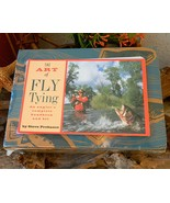 Art of Fly Tying Fishing Anglers Complete Handbook Kit Probasco Box - $19.95