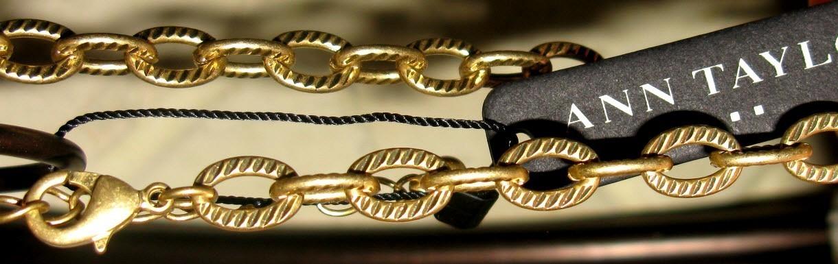 Ann Taylor Demi-parure Necklace Earrings Set NWT image 2