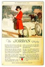 The Jordan Playboy Vintage Reproduction Automobile Metal Sign 12x18 - $21.78