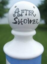 Vintage Enesco After Shower Ceramic Powder Shaker E6100 image 2