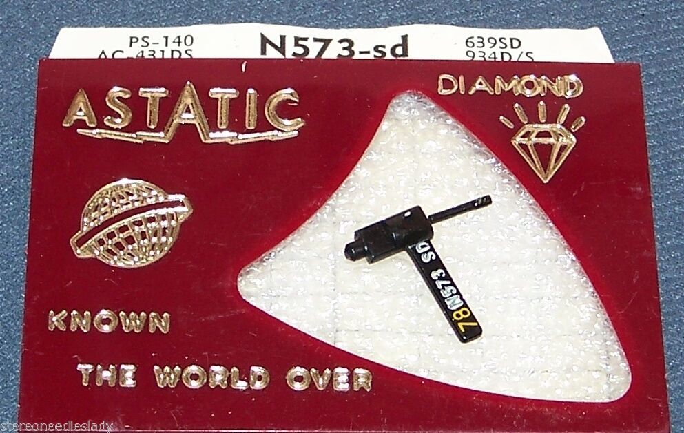 Astatic N573-SD RECORD PLAYER NEEDLE for RCA RMP-204-9 RCA 117330  648-DS73
