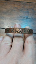 Vintage Copper Southwestern Thunderbird Cuff Bracelet By Bell - $50.00
