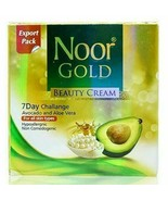Noor Gold Beauty Whitening Cream 100% Original With Avocado & Aloe Vera - $9.48