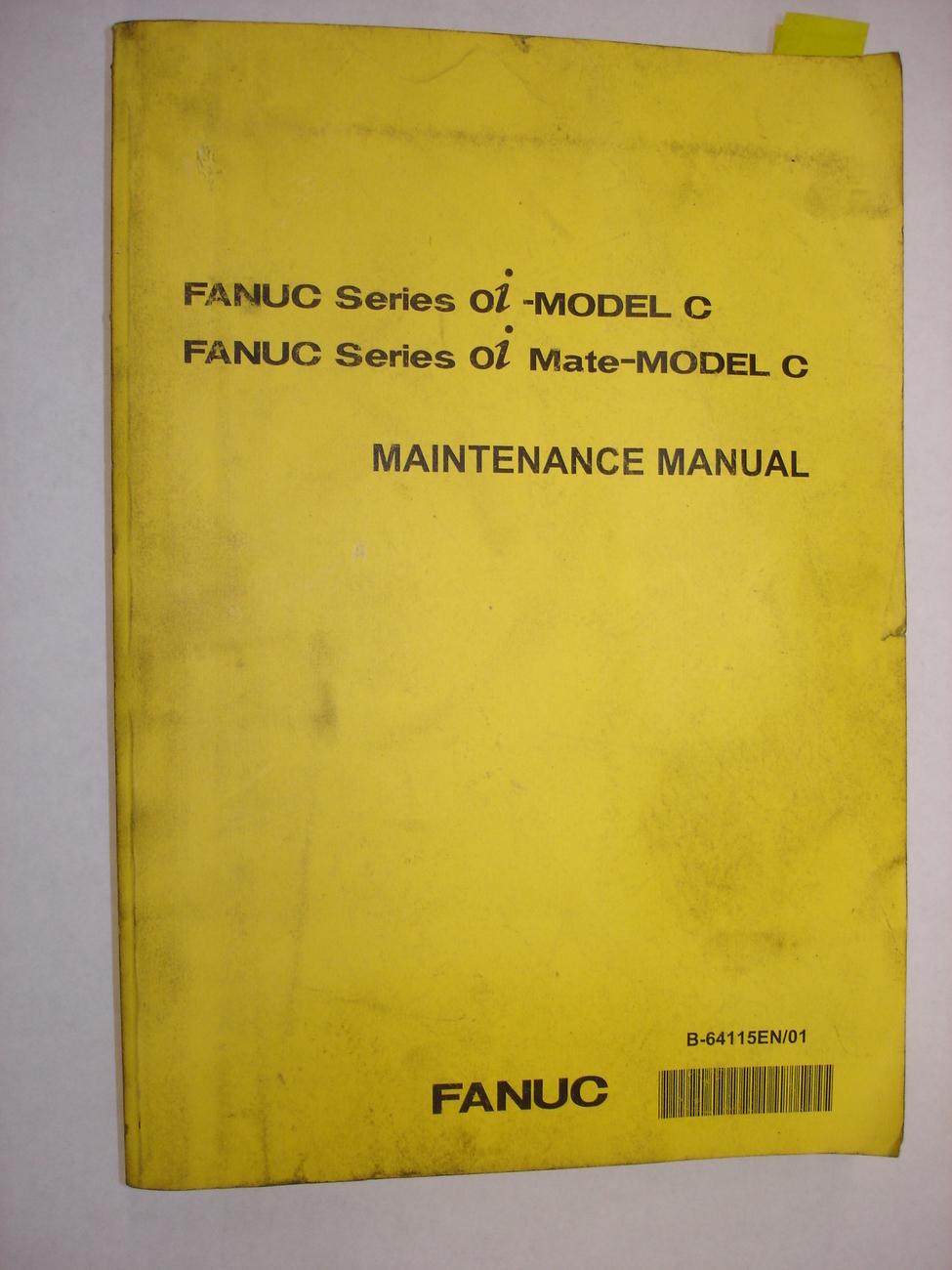 Fanuc Series 0i-Model C Maintenance Manual