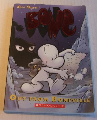 Jeff Smith Bone Vol 1 Out from Boneville SC
