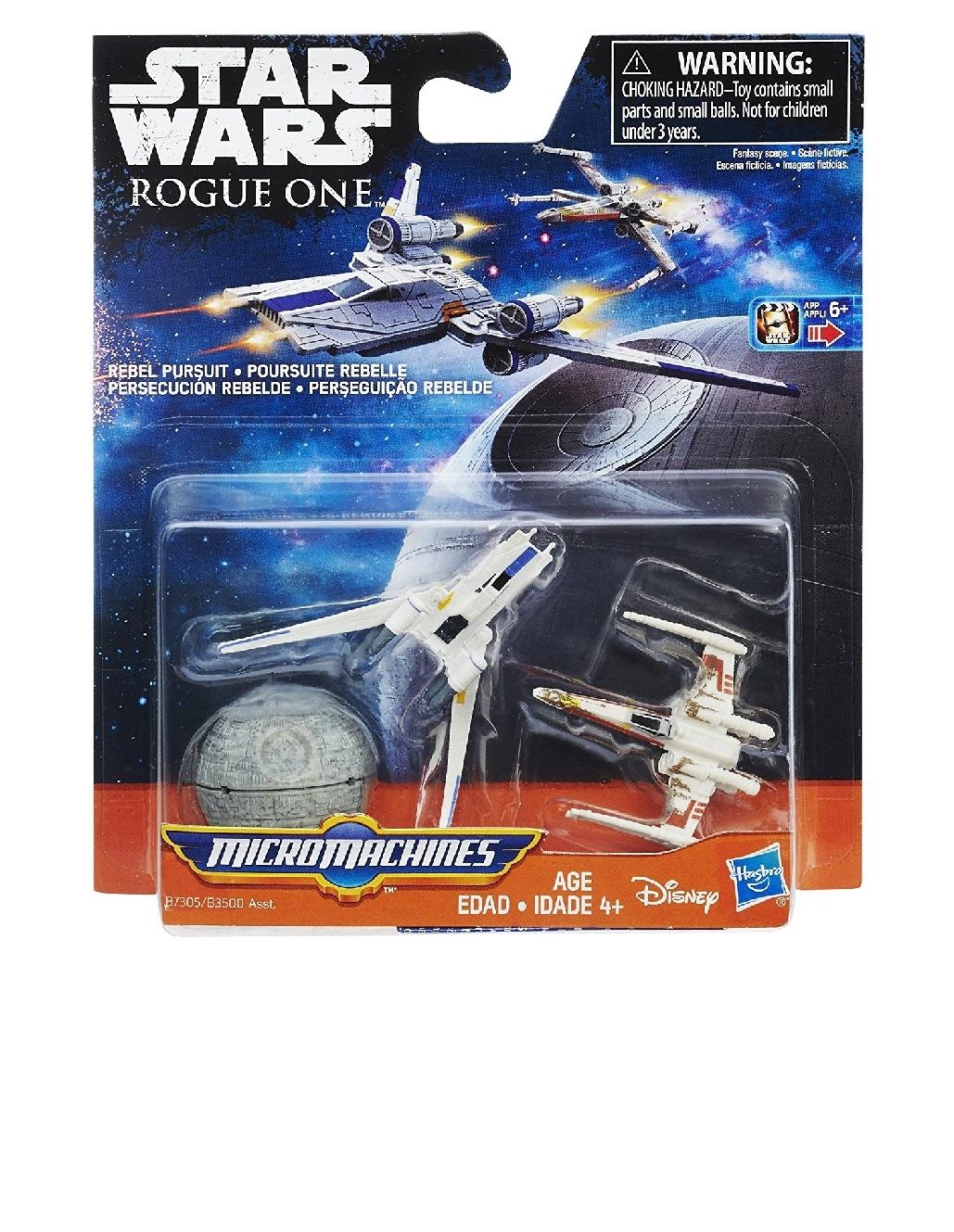 Hasbro Star Wars Micro Machines Phantom Starship Rebeldes