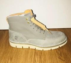 Timberland Westmore Leather/Fabric Boot - Men's Medium Grey Nubuck/Canva... - $2.400,38 MXN