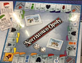 Brand New Sealed Norristown-Opoly Board Game Monopoly Pennsylvania Made in USA image 4