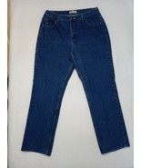 """Lee Womens Jeans Size 14 High Rise 32""""x29.5""""  Relaxed fit with Template - $17.05"""