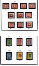 Miscellaneous Revenues Collection 1894-1960 CV $1,400.00 - Stuart Katz - $695.00