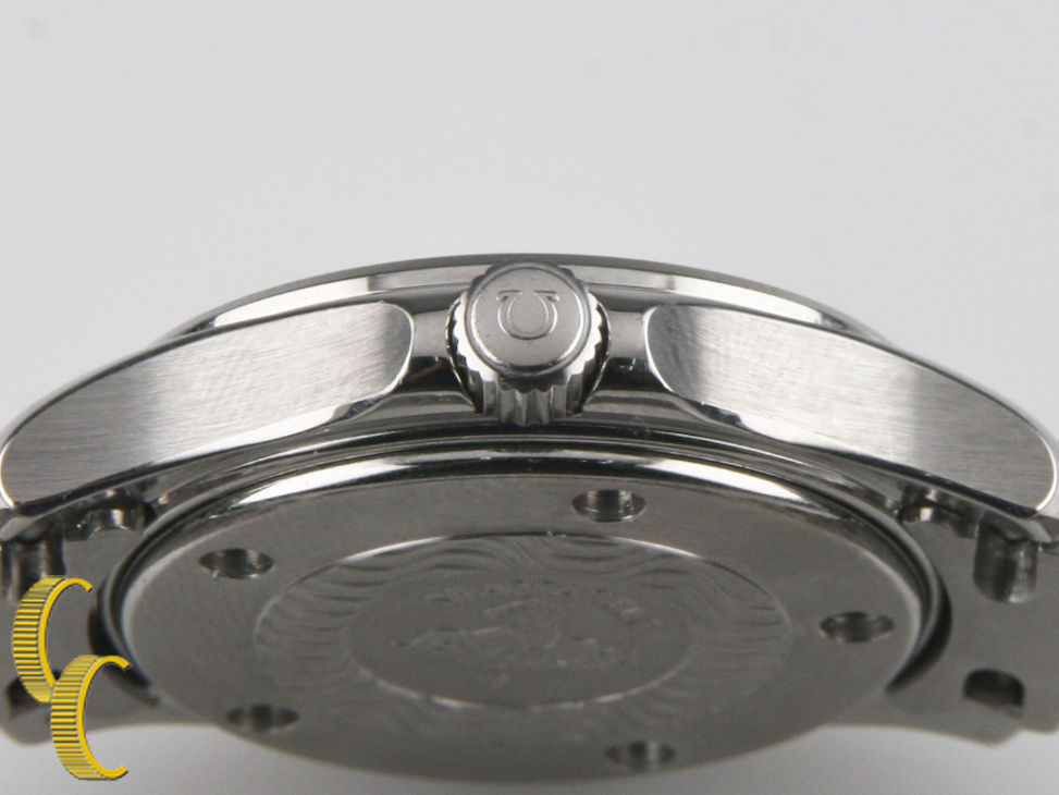 Omega Ω Men's Stainless Steel Seamaster Quartz Watch 120 m Date Feature 596.1501