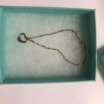 Tiffany & Co Open Heart Bracelet Elsa Peretti Sterling Silver Free Shipping - $73.49